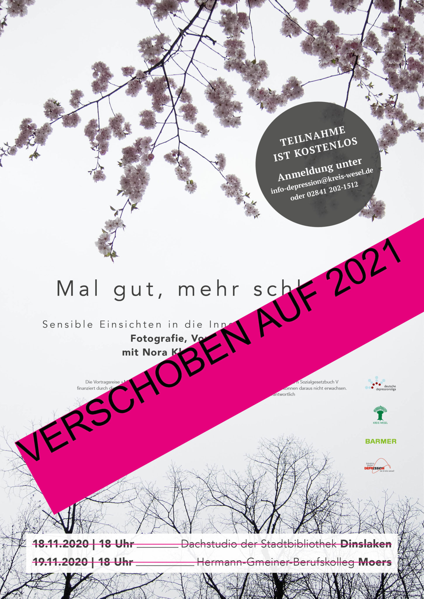 Plakat-_verschoben-Vortrag-Depression